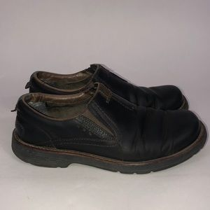 Merrell Men's Slip On Loafers Size 8 Brown Leather